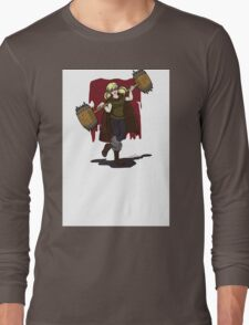 Harley Q. Bolton from Game of Heroes  Long Sleeve T-Shirt