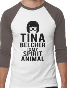 Tina Spirit Animal Men's Baseball ¾ T-Shirt