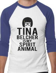 Tina Spirit Animal Men's Baseball ¾ T-Shirt