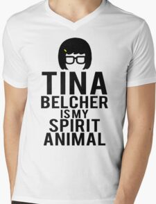 Tina Spirit Animal Mens V-Neck T-Shirt