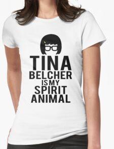 Tina Spirit Animal Womens Fitted T-Shirt