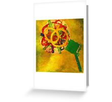 Flower by Committee Greeting Card
