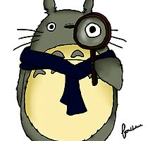 Sherlock x Totoro by Farhana Bashar