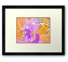 Dreamsicle Framed Print
