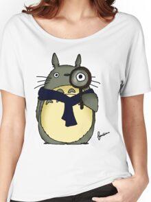 Sherlock x Totoro Women's Relaxed Fit T-Shirt