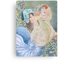The Daughters of Neptune Canvas Print