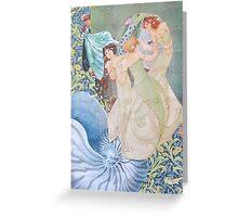 The Daughters of Neptune Greeting Card