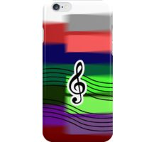 Shaken Piano Treble Phone Case iPhone Case/Skin