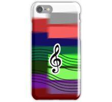 Shaken Piano Treble Phone Case iPhone Case/Skin