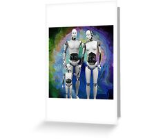Th3 Nucl3ar F4mily Greeting Card