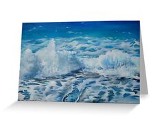 Sea Three Greeting Card