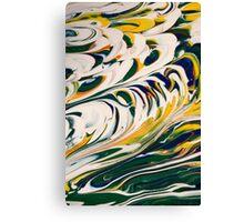 Tidal Surf Canvas Print