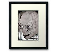Gollum Smeagol Framed Print