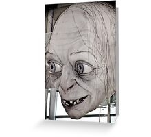 Gollum Smeagol Greeting Card