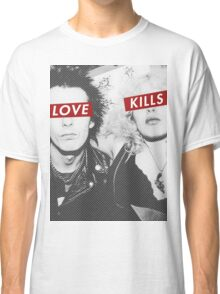 Love Kills - Sid & Nancy Classic T-Shirt