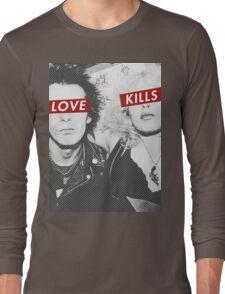 Love Kills - Sid & Nancy Long Sleeve T-Shirt