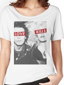 Love Kills - Sid & Nancy Women's Relaxed Fit T-Shirt