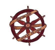 Brand New Ship Wheel Design by Tara Margolis