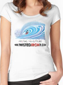 twisted IRONy untubed Women's Fitted Scoop T-Shirt