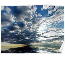 Dawn at Esker Lake Poster