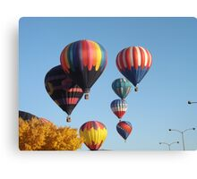 Balloons Arising Canvas Print