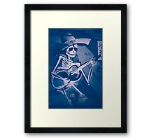 Mexican Blues Framed Print