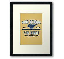 Bird School for Birds Framed Print