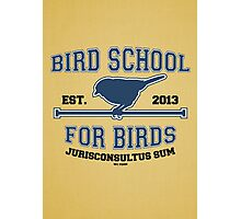 Bird School for Birds Photographic Print