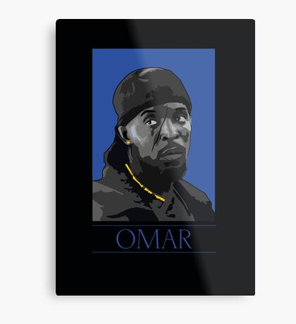 Omar  Metal Print