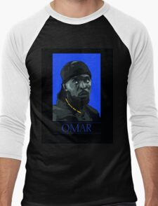 Omar  Men's Baseball ¾ T-Shirt