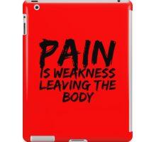 Pain iPad Case/Skin