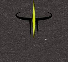 Green and Black Quake III Arena Hoodie