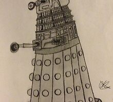 Dalek by Kati-Bella