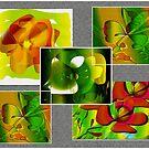 Flower Collage by IrisGelbart