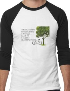 Sudden Arboreal Stop Men's Baseball ¾ T-Shirt