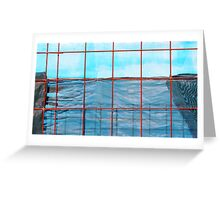 Shadecloth Sea Greeting Card