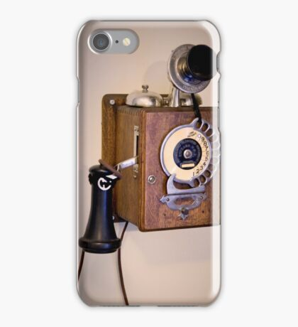 Antique Telephone iPhone Case/Skin