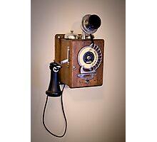 Antique Telephone Photographic Print