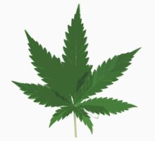 Marijuana Leaf by ColaBoy