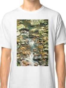 Creek bed at Natural Bridge Classic T-Shirt