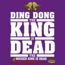 Ding Dong the King is Dead by JenSnow