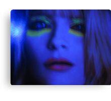 Daughter Of Resolution  { True Blue } Canvas Print