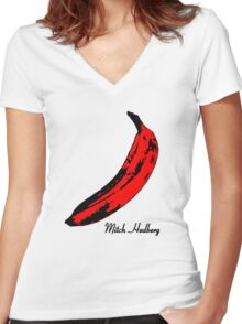 Mitch Hedberg Women's Fitted V-Neck T-Shirt