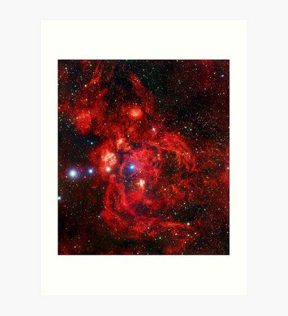 Lobster Nebula Triangle | Fresh Universe Art Print