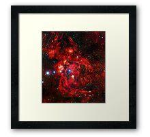 Lobster Nebula Triangle | Fresh Universe Framed Print