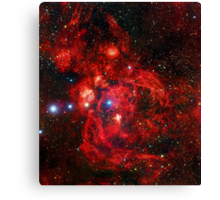 Lobster Nebula Triangle | Fresh Universe Canvas Print