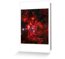 Lobster Nebula Triangle | Fresh Universe Greeting Card