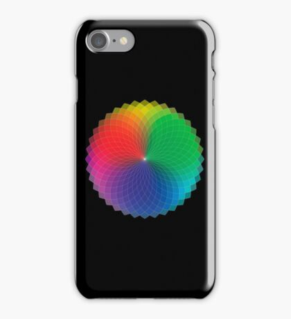 Geometric Design - Color Spectrum Multiply iPhone Case/Skin