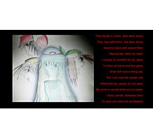 Alice -- The Fourth Hero (Twitch Plays Pokemon FireRed) Photographic Print