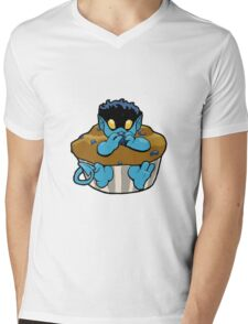 Blueberry Bamf Muffin Mens V-Neck T-Shirt